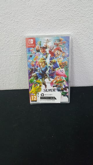 Juego Super Smash Bros Ultimate Pricentad N switch