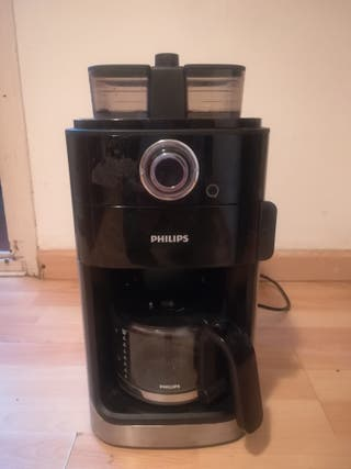 Philips Cafetera, Grind and Go