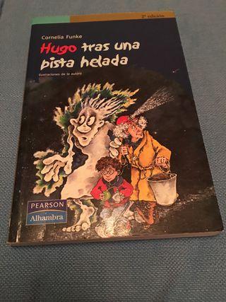 Libro Hugo tras una pista helada