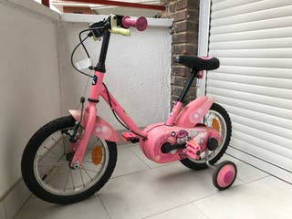 Bicicleta infantil 14 pulgadas btwin