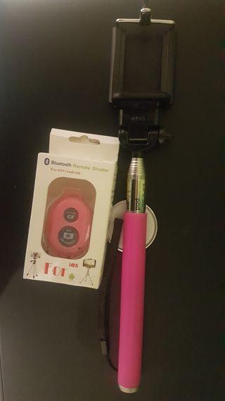 Palo Silfie Selfi rosa con mando