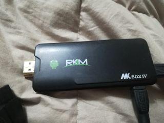 Rikomagic RKM 802 IV. 8 gigas. incluye cable HDMI