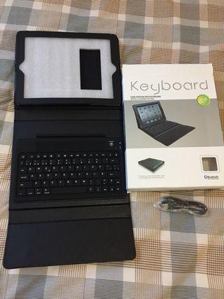 Teclado inalámbrico en español para iPad o tablet