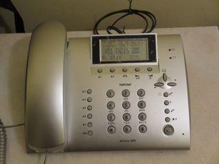 Teléfono fijo Topcom con identificador de llamadas