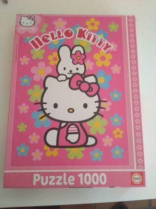 Puzzle Hello Kitty 1000 piezas.