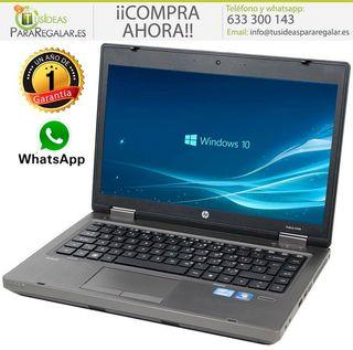 Portátil Hp ProBook 6470b, i5 / Cam / Windows 10 G