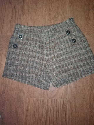 pantalón corto(invierno)