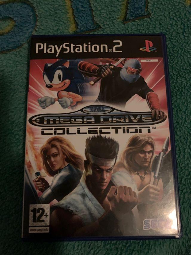 Sega megadrive collection ps2