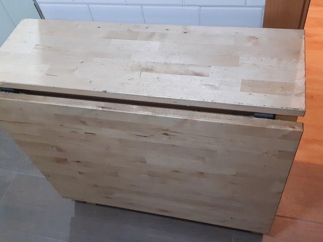 MESA COCINA IKEA de segunda mano por 100 € en Móstoles en WALLAPOP
