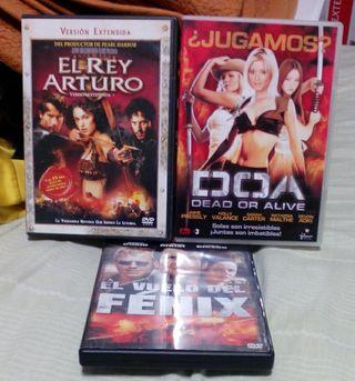 Pack DVD Acción
