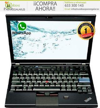 Portátil Lenovo X220, 8Gb, Cam, i5, Windows 10 Gra