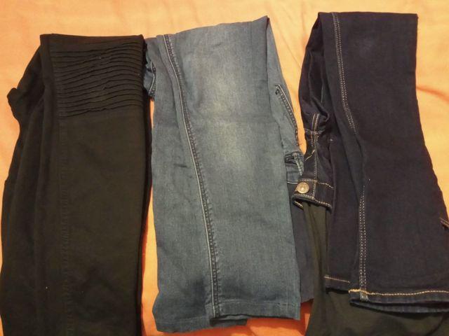 2c53a5c0e Pack 4 Jeans pitillo super skynni HM Premamá. de segunda mano por 40 ...