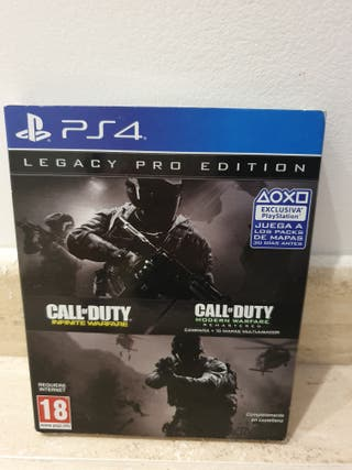 Videojuego PS4 Call of Duty Legacy pro edition