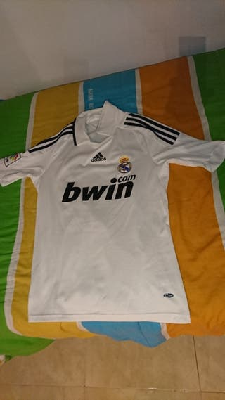 Camisa oficial del Real Madrid temporada 2008-2009