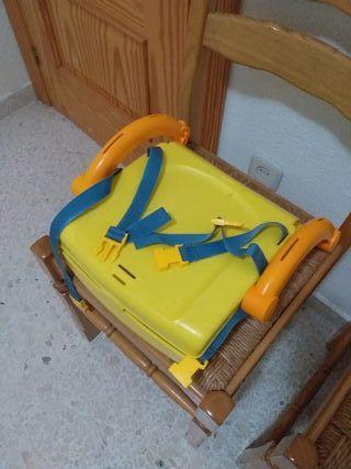 silla adaptador niño