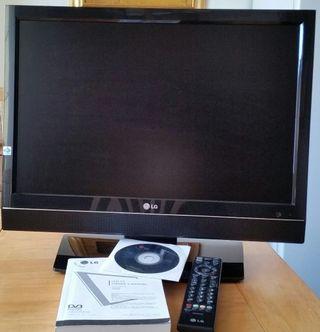 Tv LG 22LS4D en perfecto estado