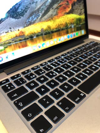 "MacBook Pro 13.3"" retina impecable. SOLO 86 CARGAS"