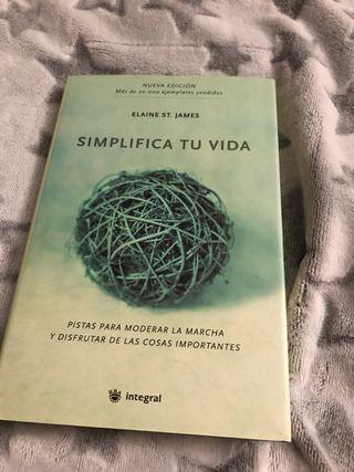 Libro Simplifica tu vida