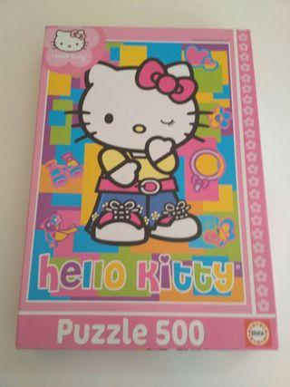 Puzzle Hello Kitty 500 piezas.