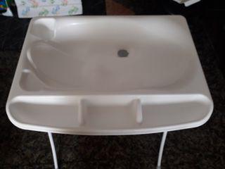 bañera para bebe con cambiador