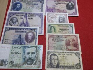 todos estos billetes antiguos por 20 euros