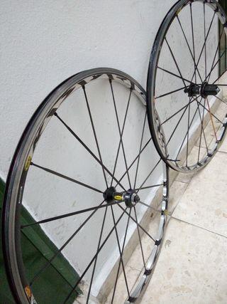 juego ruedas carretera mavic ksyrium sl