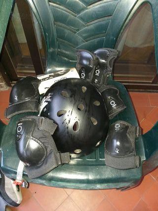 Protecciones infantiles para patinar
