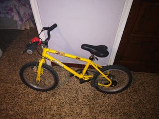 Bicicleta Amarilla para chico/a