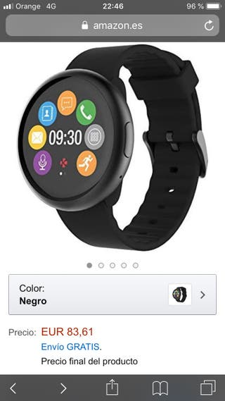 Mykronoz reloj digital