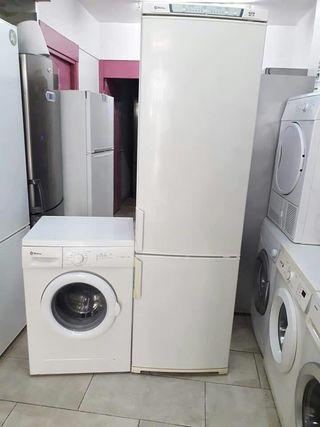 pack lavadora + nevera marca balay