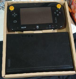 wii u + pack de juegos y mandos