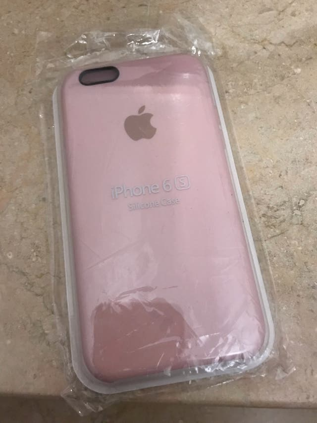 Funda rosa iPhone 6s nueva a estrenar precintada