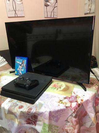 Se venda ps4 y tv Samsung