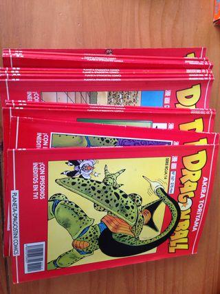 Libros edición roja Dragon Ball