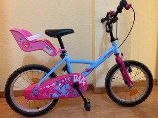 Bicicleta B-twin Wendy Pony 16''