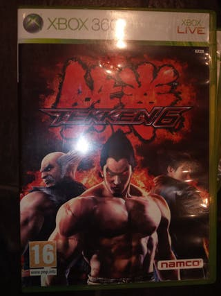 Videojuego Xbox 360 Tekken 6
