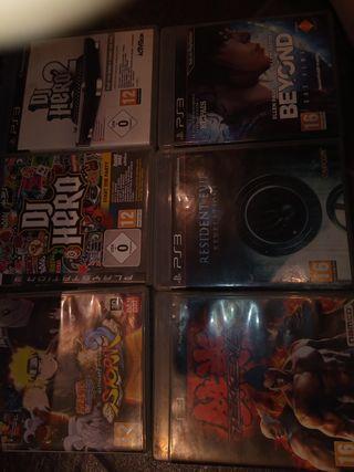 Videojuegos PS3 con instrucciones