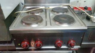 cocina industrial eléctrica