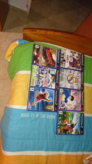 lote de videojuegos ps2