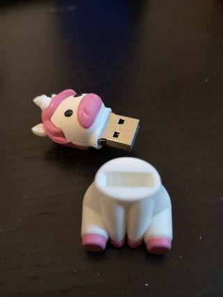 memoria USB 8 GB Unicornio