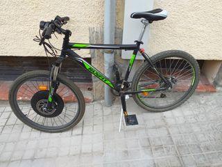bicicleta electrica kit imortor con sistema pass
