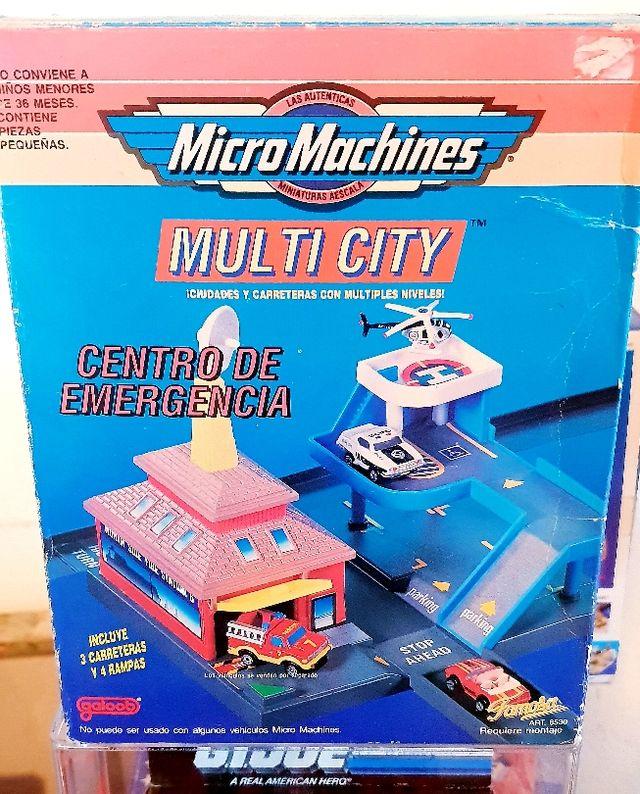 Set micro machines Multi City nuevo en caja