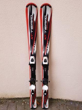 Esquís esquíes niño 120 cm