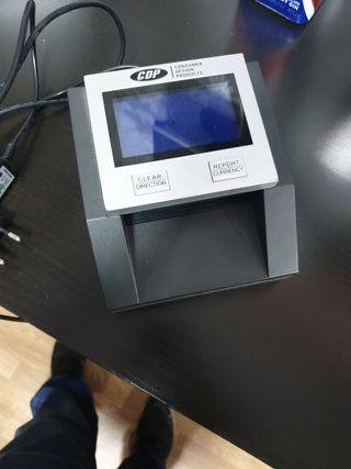 Maquina detectora billetes