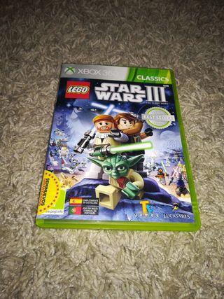 Videojuego Star Wars III para Xbox 360