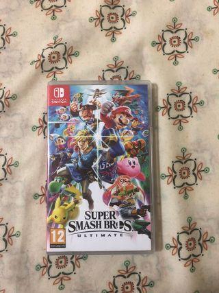 Súper Smash Bros Ultimate Switch