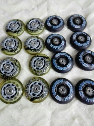 16 ruedas de patines en línea
