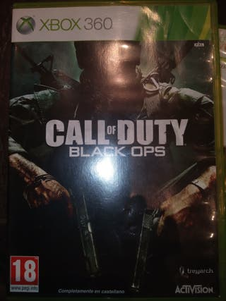 Videojuego Xbox Call of Duty