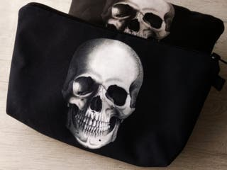 BAG NECESER MODELO SKULL ROCK CUSTOM
