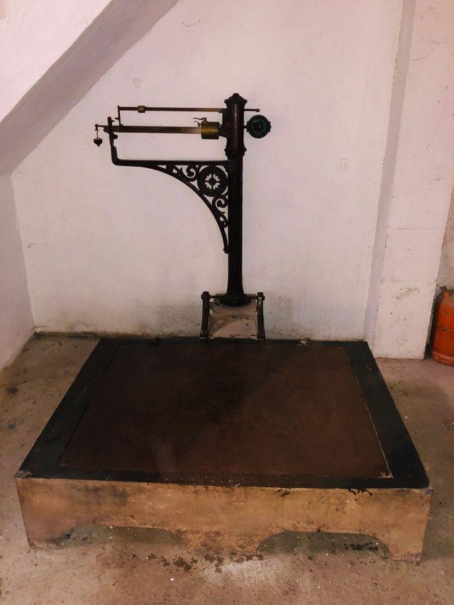 Báscula peso 2000 kg